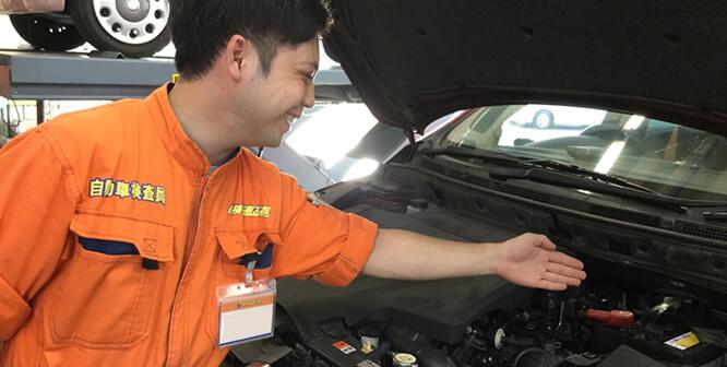 車検専門の整備士