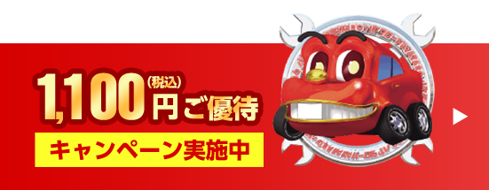 1,100円(税込)ご優待キャンペーン中